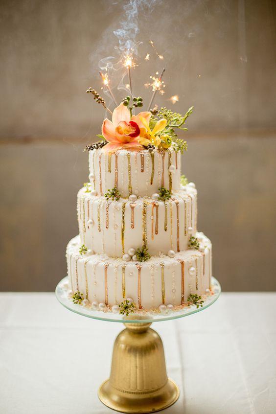 drip cake bougies