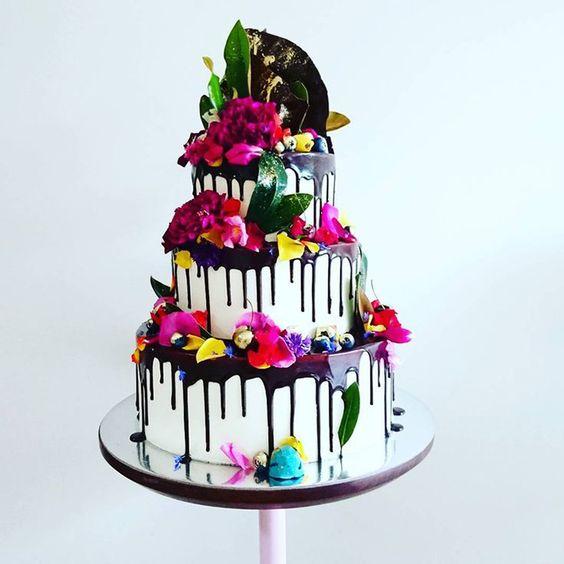 drip cake colore