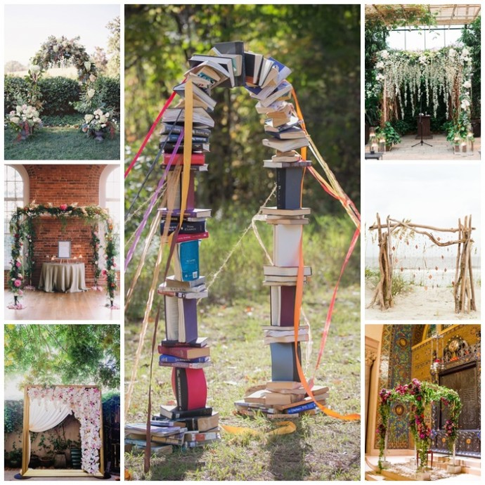 idee decoration mariage arches