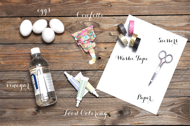 idee do it yourself confettis oeufs mariage outils necessaires