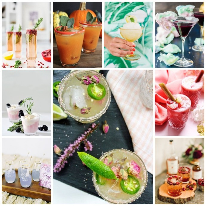 idees cocktails mariage