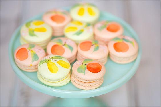 maracons-citron-mariage