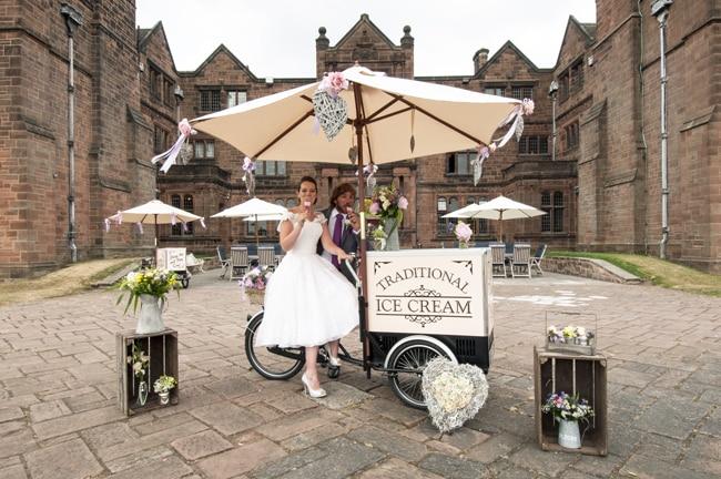 marchand de glace pour mariage autour theme glace
