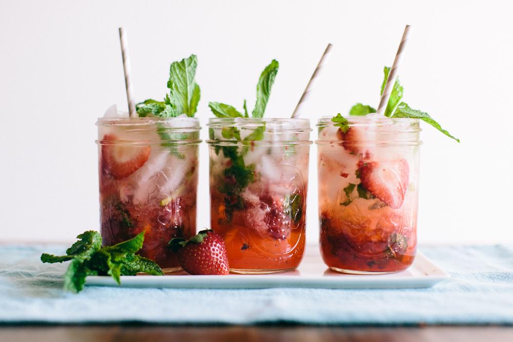 recette mariage cocktail mojito a la fraise