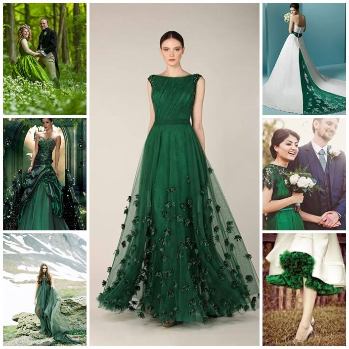 se marier en vert