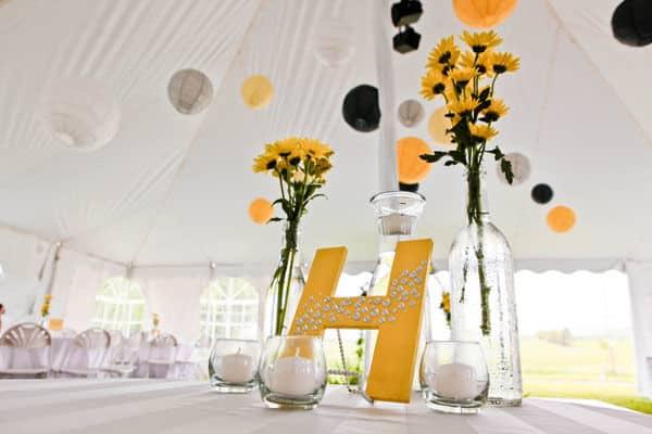 table de mariage marguerite