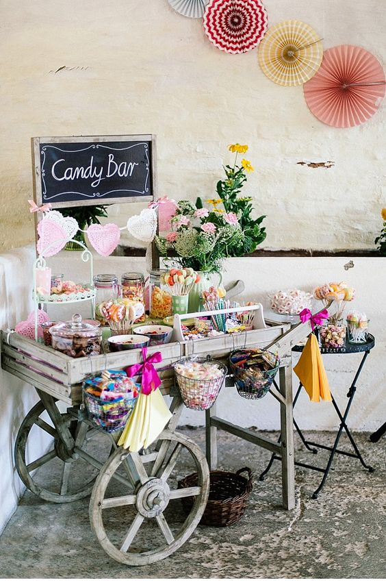 10 candy bars parfaits pour un mariage champ tre et gourmand. Black Bedroom Furniture Sets. Home Design Ideas