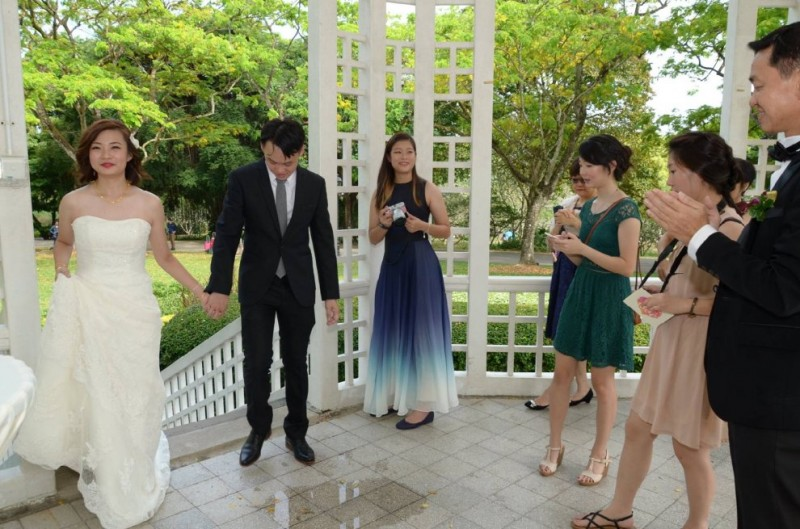 ceremonie mariage singapour photo rate