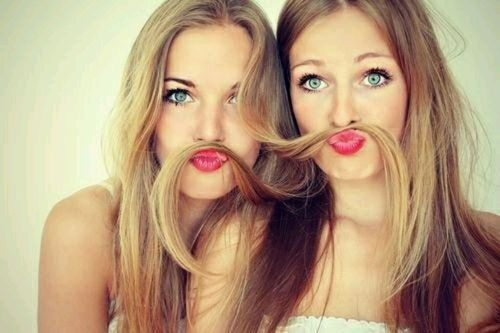 idee photo cheveux bff