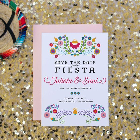 invitations mariage broderies mexicaines mariage mexicain