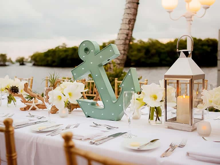 nautical wedding decor 10 jolies inspirations pour d 233 corer un mariage en bord de 6105