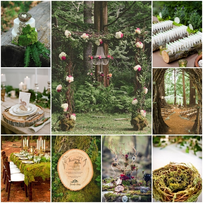 tableau mariage foret