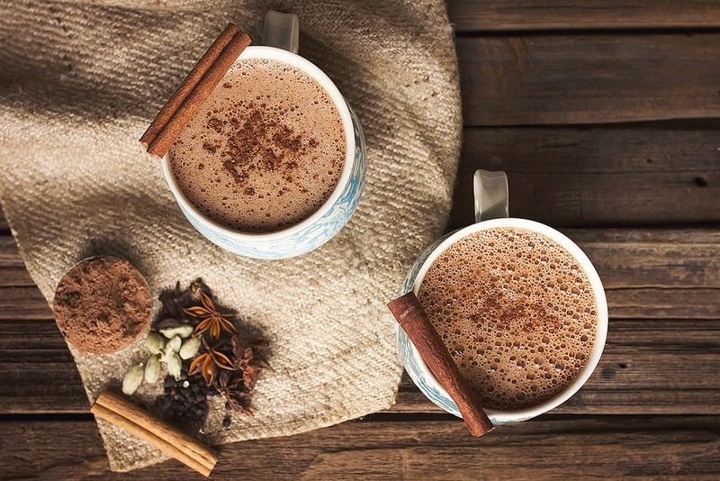 chocolat chaud mexicain epice mariage