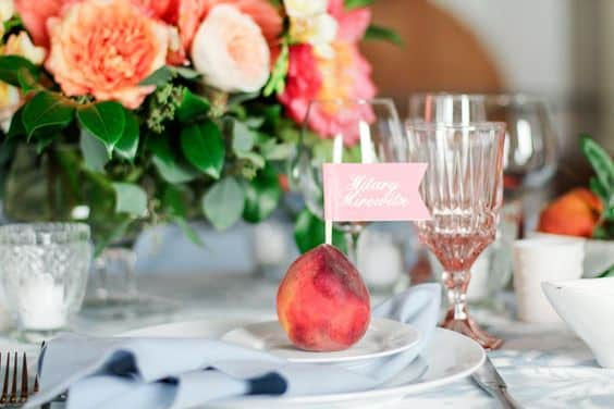 marque-place-mariage-nectarine
