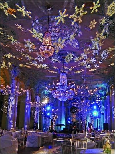 10 d corations pour transformer un mariage hivernal en conte de f es page 2 - Decoration conte de fee ...