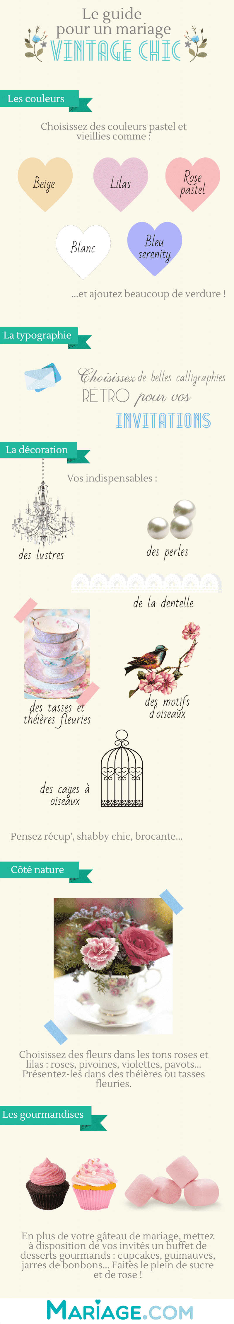 guide-mariage-vintage chic-infographie-mariage