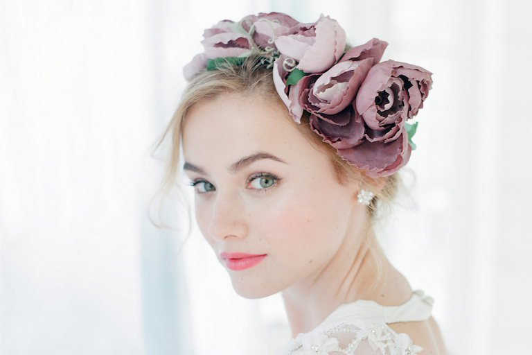 beaute maquillage trois idees  mariage automne hiver