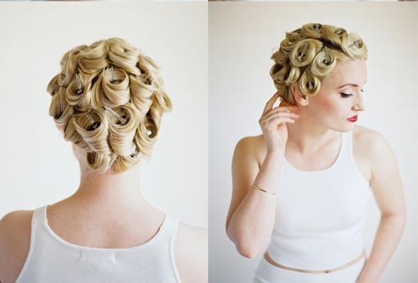 DIY coiffure de mariage boucle etape 3