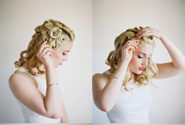 DIY coiffure de mariage boucle etape 4