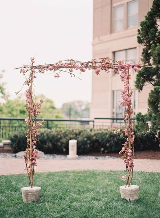 arche rose poudre