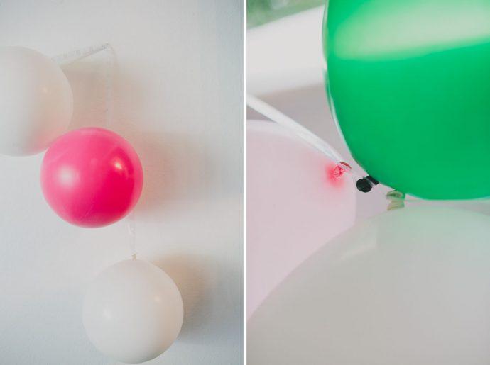ballon DIY arche floral