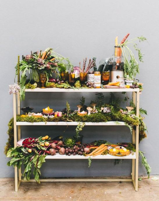 buffet legumes