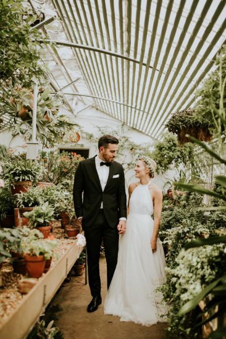 couple botanic serre