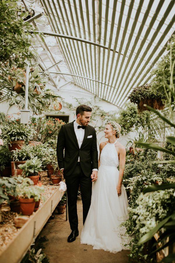 couple botanic serre - Mariage Budget Serr