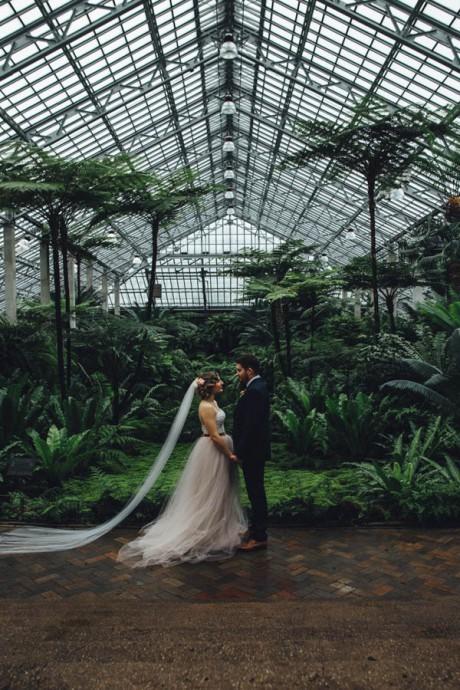 couple serre botanic