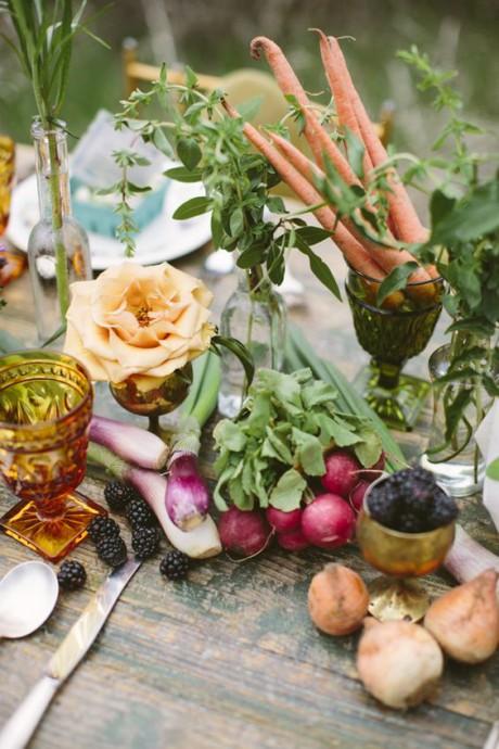 deco legumes carottes
