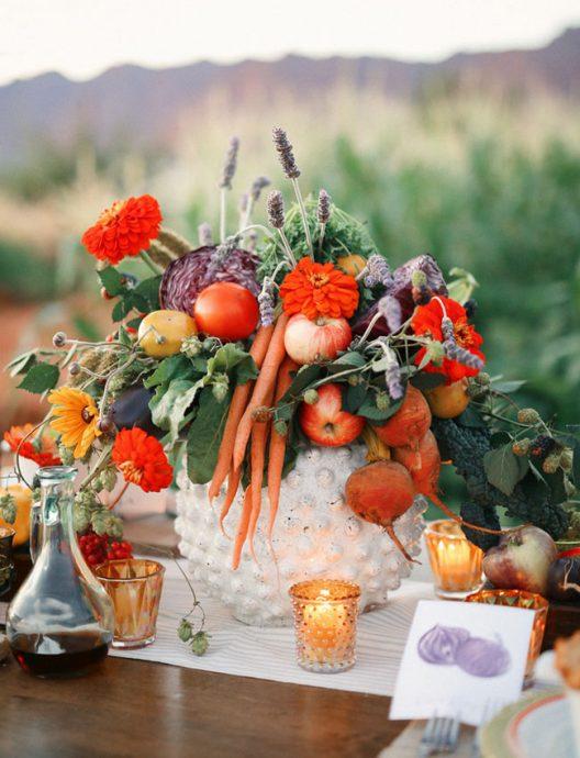 ferme deco legume oranges
