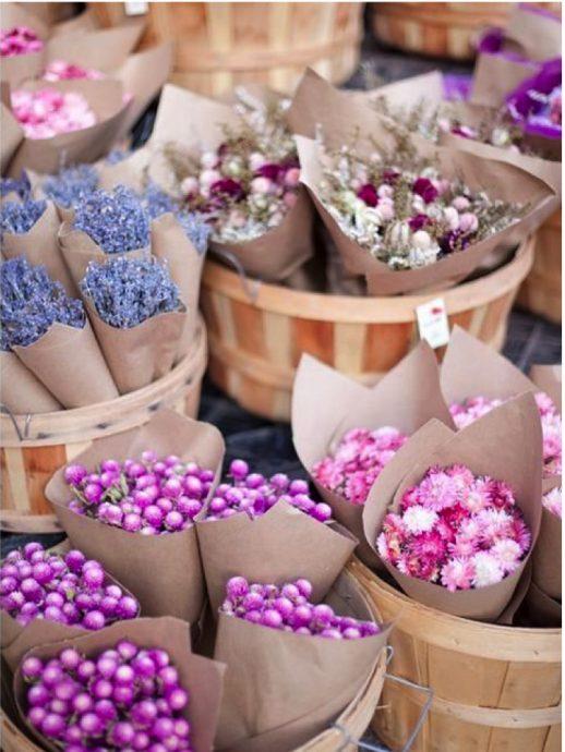 fleurs deco cadeaux invites