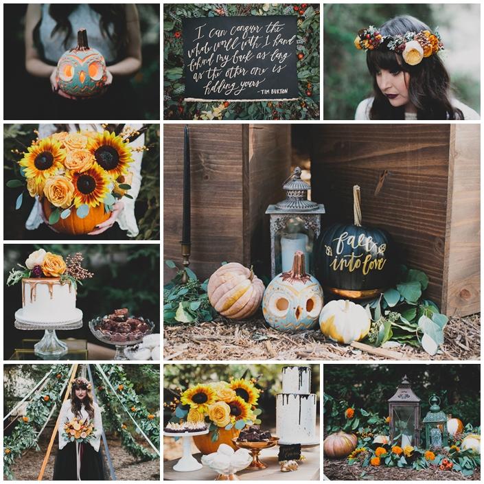 planche mariage halloween