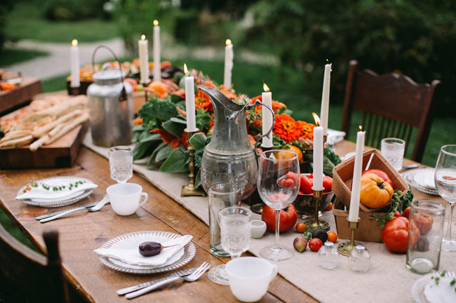 table orange legumes tomates