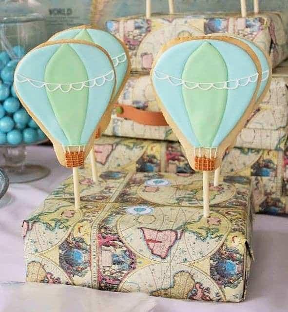 cadeau invites mariage montgolfiere