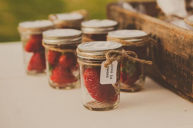 cadeaux pots de fruits frais