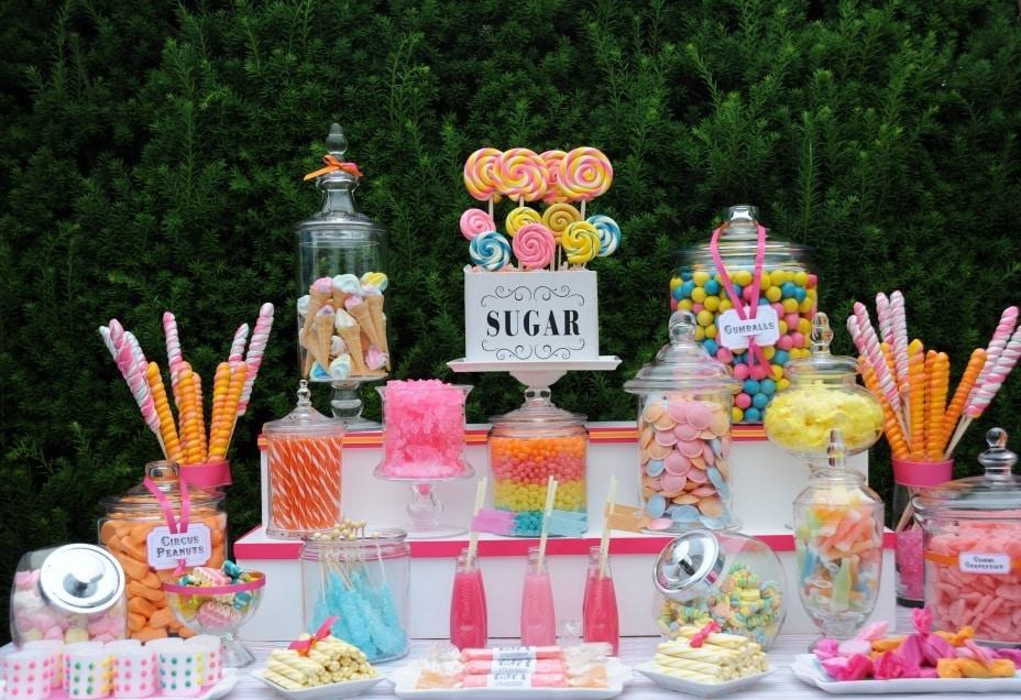 candy bar sympa mariage