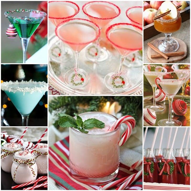 cocktails de mariage hiver
