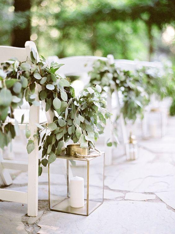 decoration mariage eucalyptus