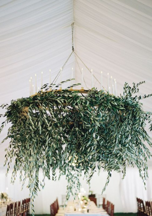 eucalyptus lustre decoration reception