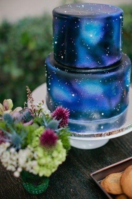 mariage constellation gateau