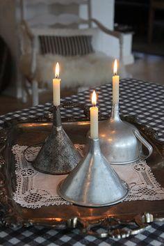 objets cuisine vintage bougies