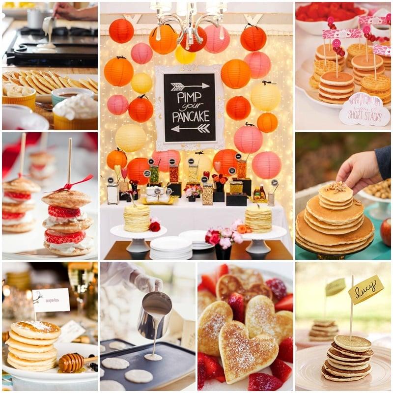 planche bar a pancakes