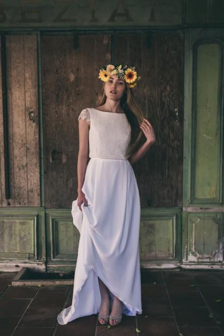 robe mariee chlea marion kenezi 2017