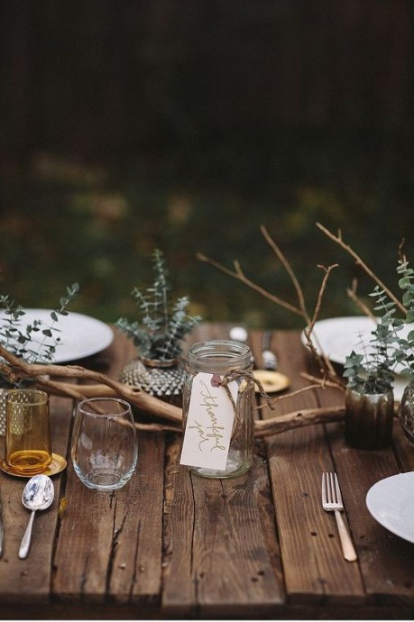 table de mariage hansel et gretel decoration