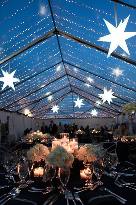 table reception mariage constellation
