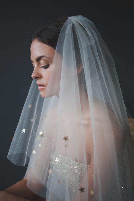 voile de mariee etoile mariage constellation