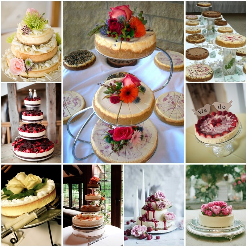 wedding cake en mode cheese cake