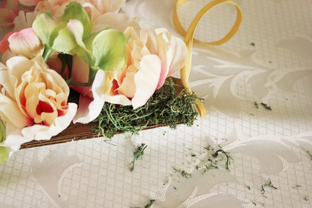 DIY decoration m floral herbe