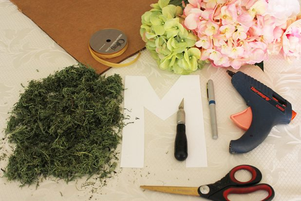 DIY decoration m floral outils